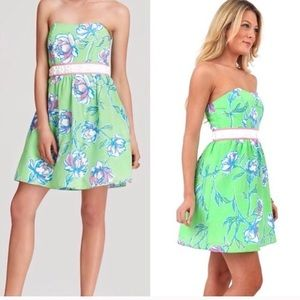 Lilly Pulitzer green Langley dress